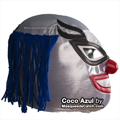 Coco Azul Wrestling Mask for Adults