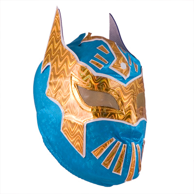 sin cara wrestler no mask. Sin Cara semi-pro mask