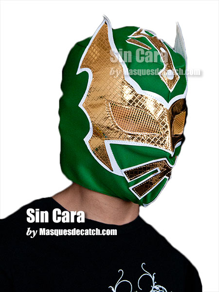 Kid Sin Cara Mask, Green color