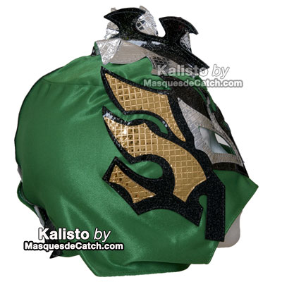 """Kalisto"" Wrestling Kid Mask - Lucha Dragons - Green Color"