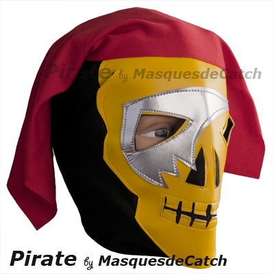 Pirate Kid Mask