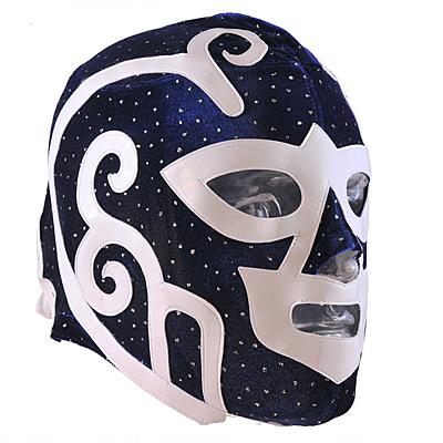 """""""Huracan Ramire"""" Mexican Wrestling Mask - in VELVET"""