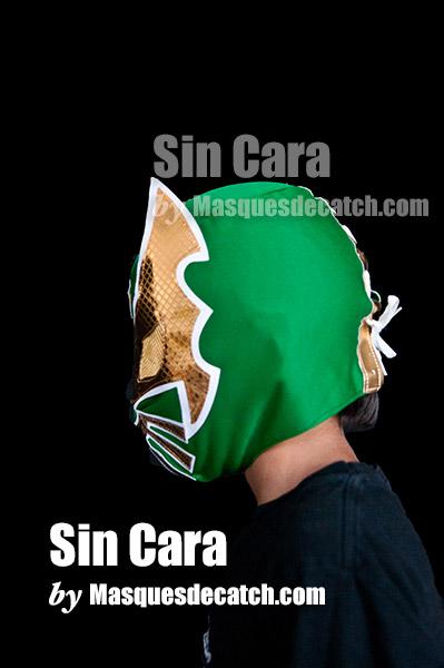 Sin Cara Kid Mask Green Color