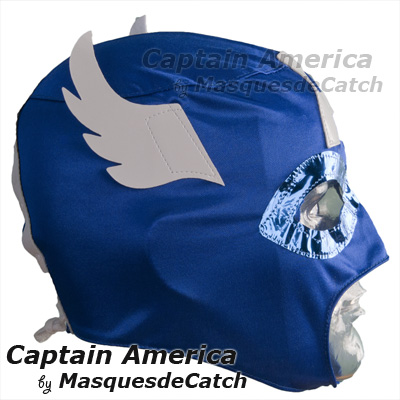 Captain America Kid Mask