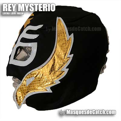 Rey Mysterio Wrestling Mask, Adult size - in Fabric