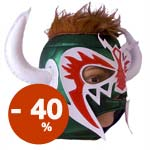 Psicosis Lucha Libre Adult Mask