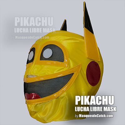 PIKACHU Kid Mak- Pokemon Super Hero - KID Size