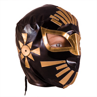 Mistico Wrestling Masks Black