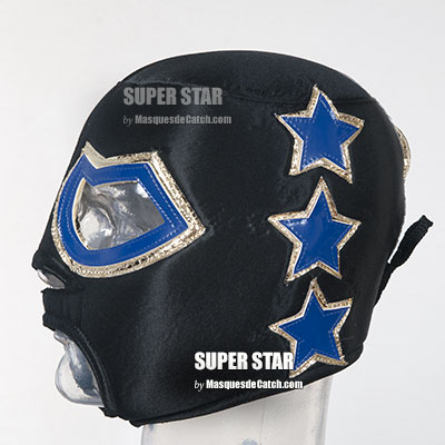 """SUPER STAR"" Wrestling Mask for Adult"