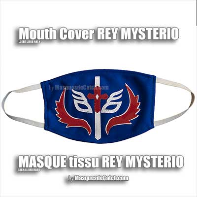 Rey Mysterio Mouth Cover Mask in fabric