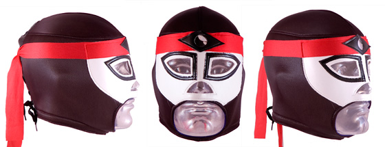Octagon Lucha Libre Wrestling Mask - for Adults