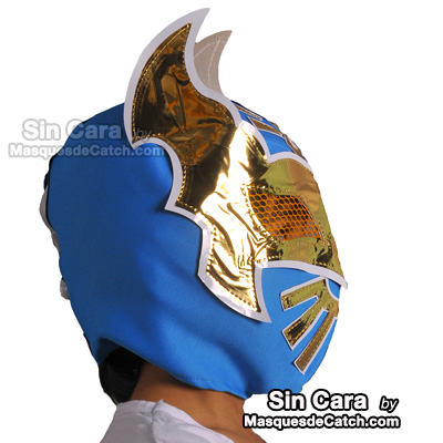 Kids Sin Cara Mask Blue