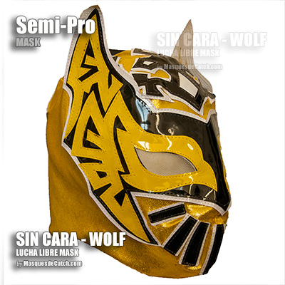 Wolverhampton Sin Cara Wolves Mask in Fabric - Adult Size