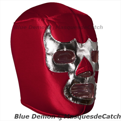 Blue Demon Red Mask Lucha Libre