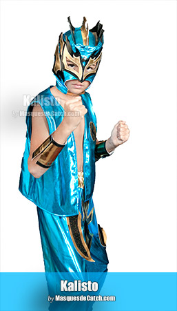 Kalisto Kid Costume Blue Color