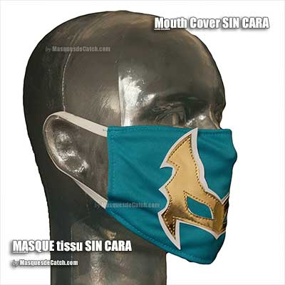 Sin Cara Mouth Cover Mask in Fabric
