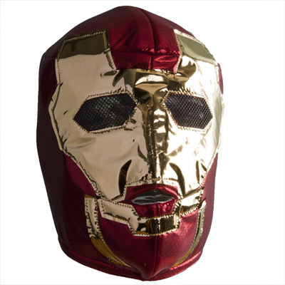 Iron Man Mask Lucha Libre