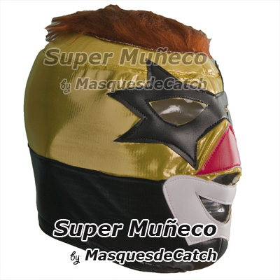 Lucha Libre Super Muñeco Adult Mask