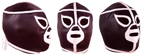 Black Shadow Mexican Wrestling Mask