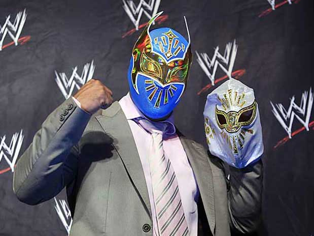 sin cara wwe mask. wwe sin cara without mask.
