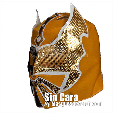 Kid Sin Cara Mask, Yellow color